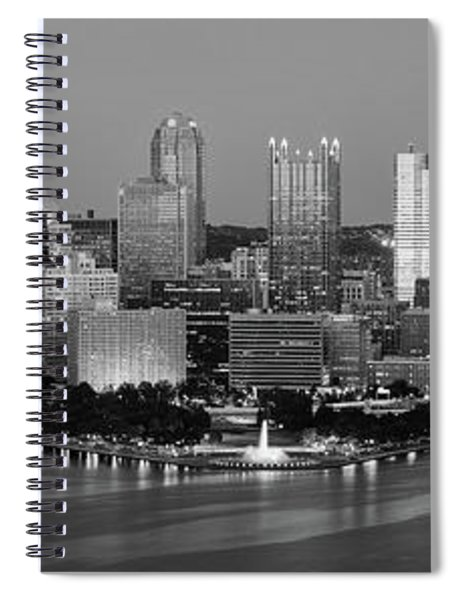 Night, Pittsburgh, Pennsylvania Spiral Notebook