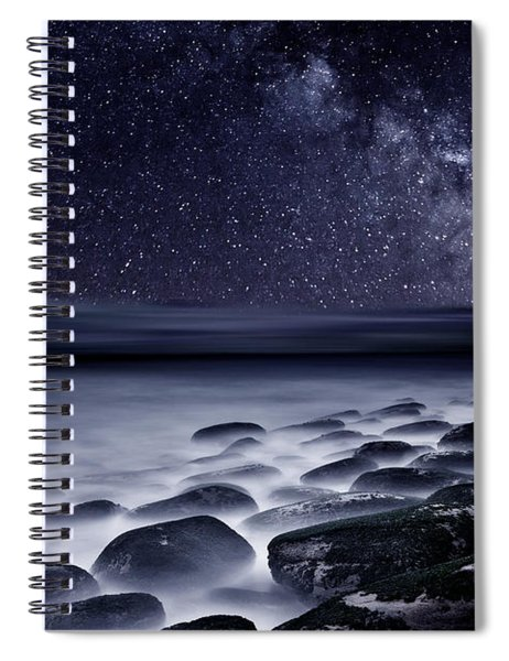 Night Shadows Spiral Notebook by Jorge Maia