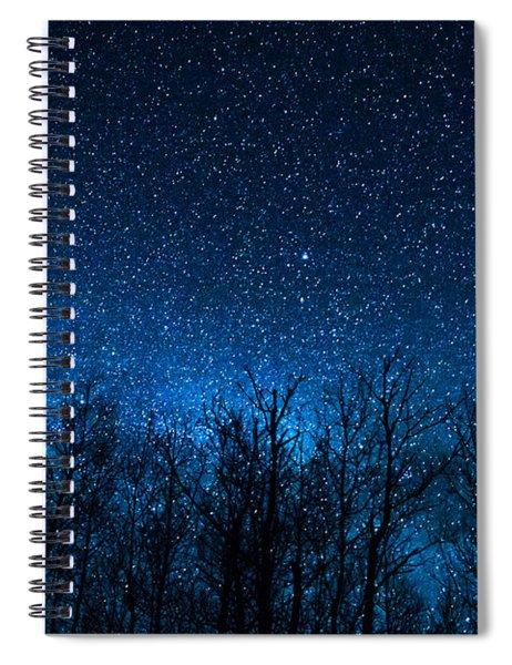 Night Stars Spiral Notebook