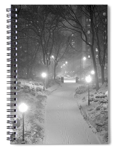 Night Storm New York Spiral Notebook