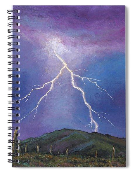 Night Strike Spiral Notebook