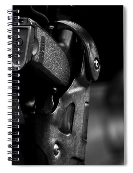 Night Traffic Stop Two Spiral Notebook