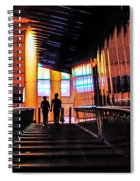 Night Walk Spiral Notebook
