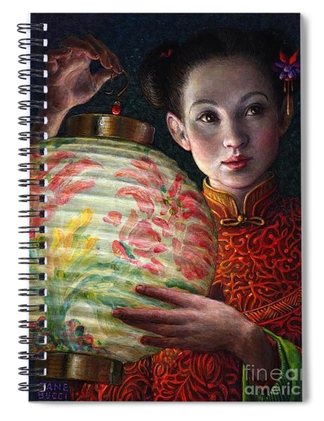 Nightingale Girl Spiral Notebook