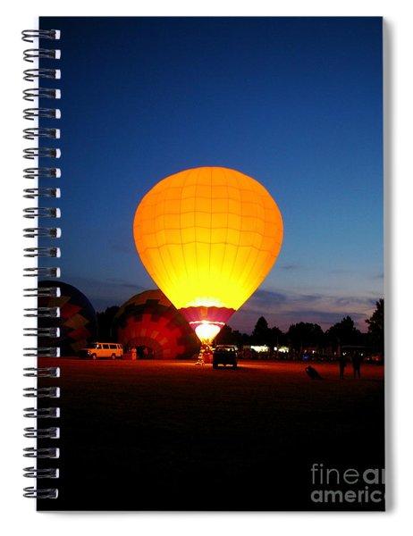 Night's Sunshine Spiral Notebook