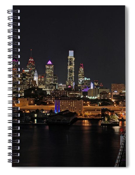 Nighttime Philly From The Ben Franklin Spiral Notebook