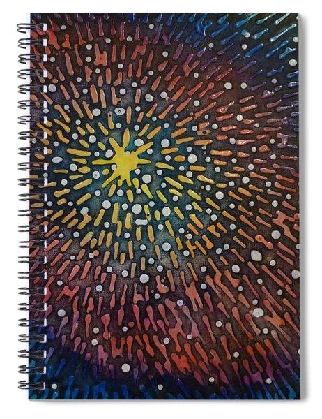 Nimoy Nebula Spiral Notebook