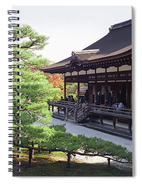 Ninna-ji Temple Garden - Kyoto Japan Spiral Notebook