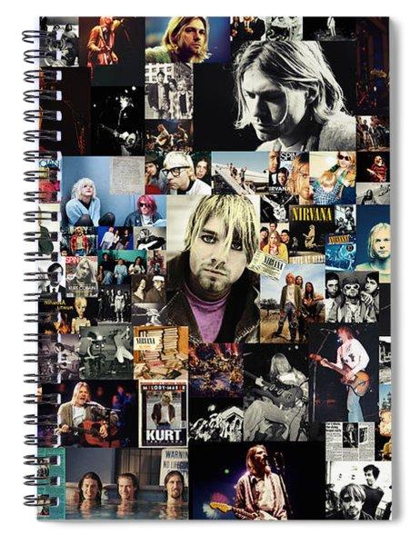 Nirvana Collage Spiral Notebook