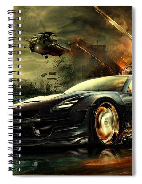 Nissan G T R Spiral Notebook