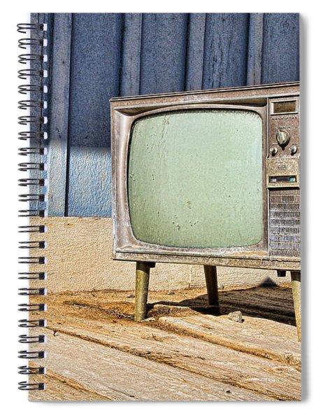 No Channel Surfing - Tv By Diana Sainz Spiral Notebook
