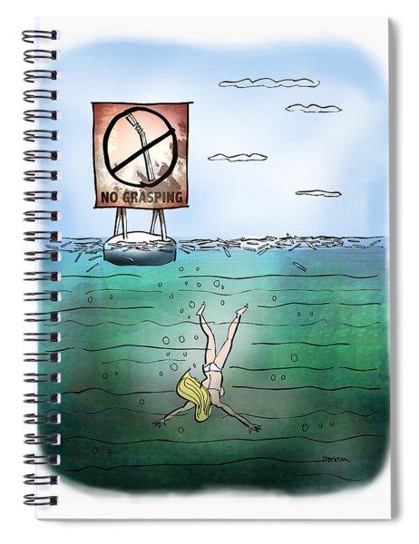 No Grasping Spiral Notebook
