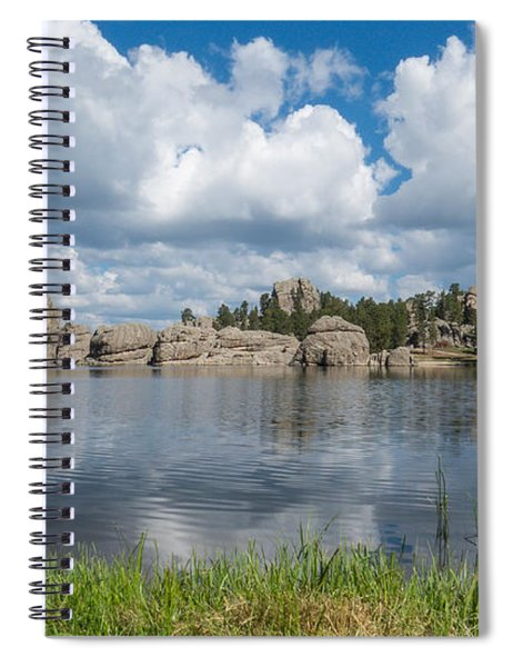 Spiral Notebook featuring the photograph Sylvan Lake South Dakota by Patti Deters