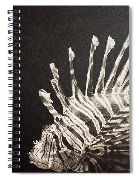 No Lion Spiral Notebook
