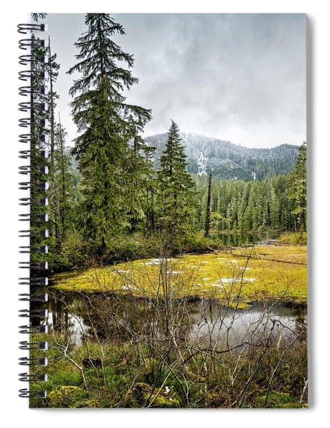 No Man's Land Spiral Notebook