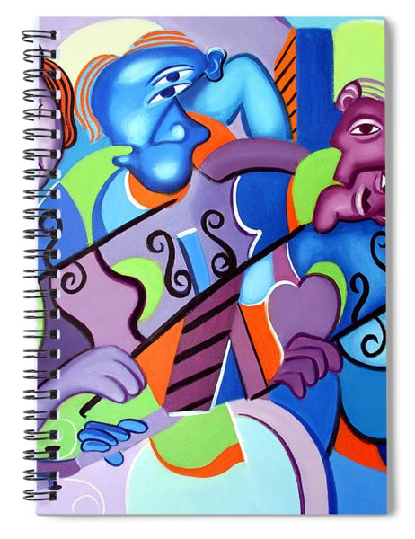 No Strings Attached Spiral Notebook