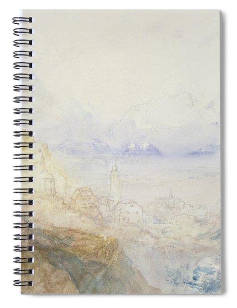 No.0588 Hospenthal, Fall Of St Spiral Notebook