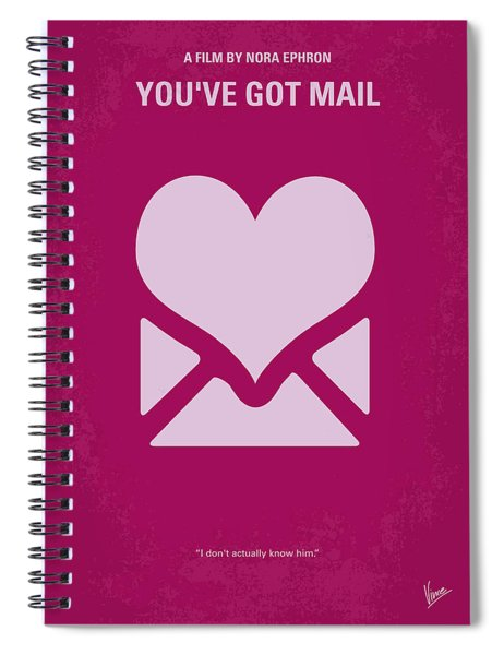No107 My Youve Got Mail Movie Poster Spiral Notebook