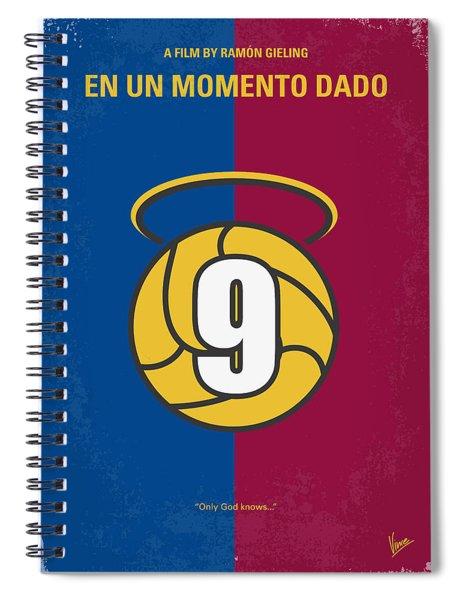 No272 My En Un Momento Dado Minimal Movie Poster Spiral Notebook
