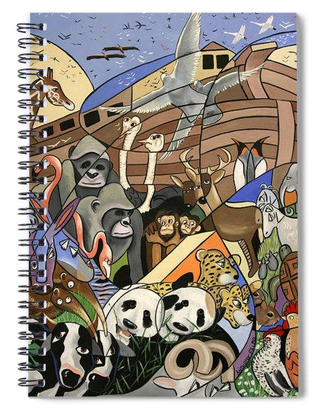 Noahs Ark Spiral Notebook