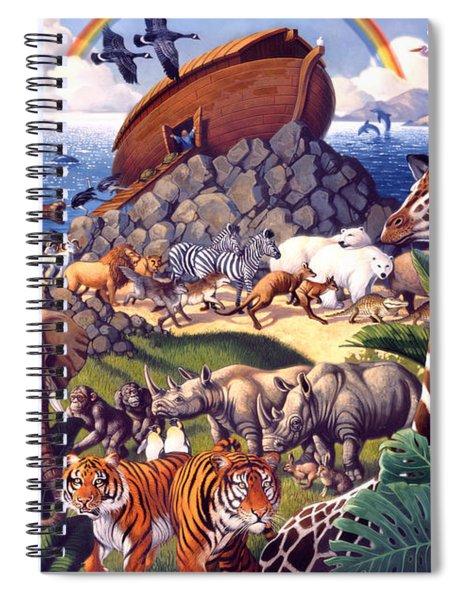 Noah's Ark Spiral Notebook