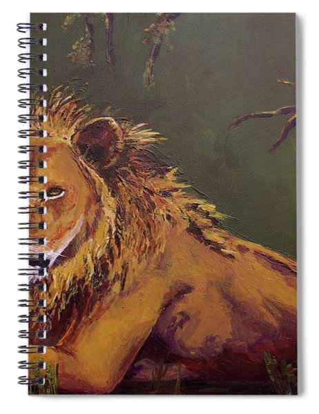 Noble Guardian - Lion Spiral Notebook