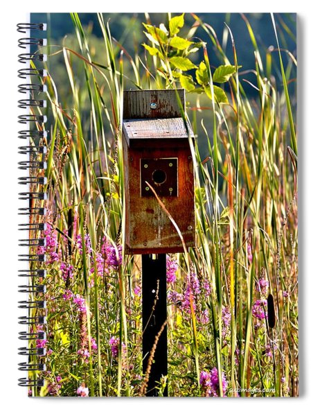 Nobody's Home Spiral Notebook