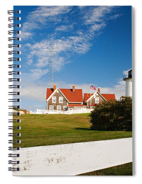 Nobska Point Lighthouse Spiral Notebook