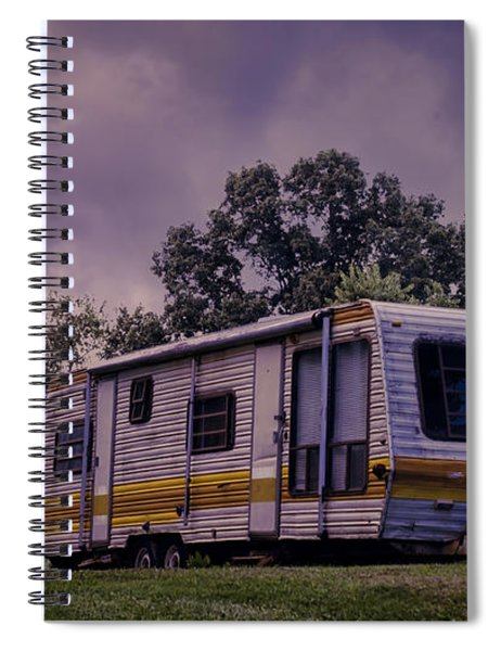 Nomads No More Spiral Notebook