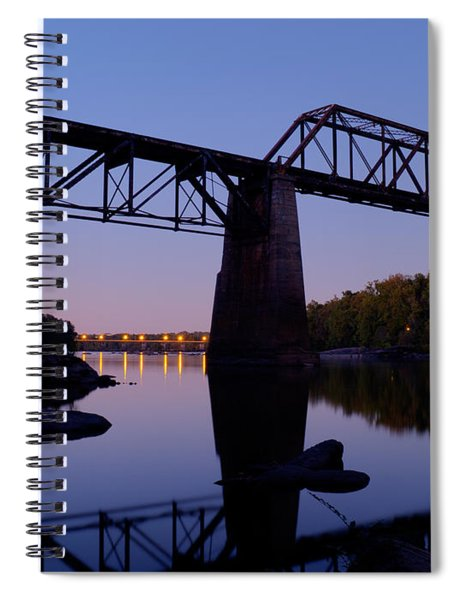 Twilight Crossing Spiral Notebook