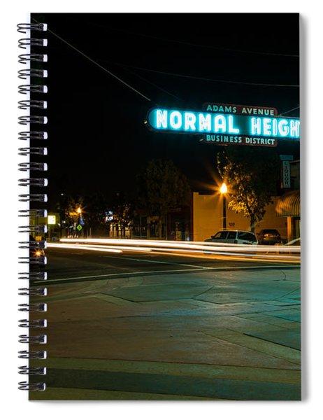 Normal Heights Neon Spiral Notebook