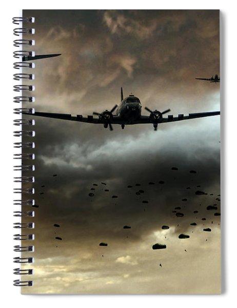Normandy Invasion Spiral Notebook