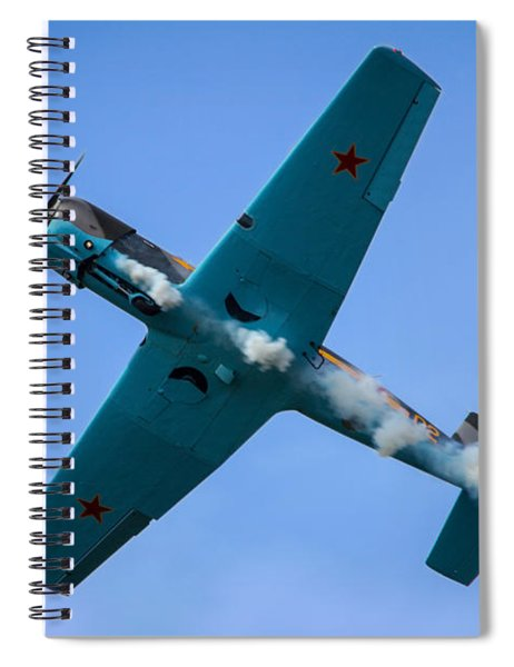 Norteast Raiders At The Greenwood Lake Airshow 2012 Spiral Notebook