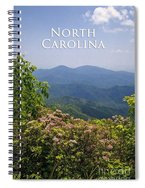 North Carolina Mountains Spiral Notebook