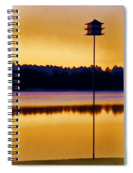 North Carolina Sunrise Spiral Notebook