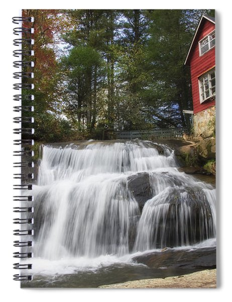 North Carolina Waterfall Spiral Notebook