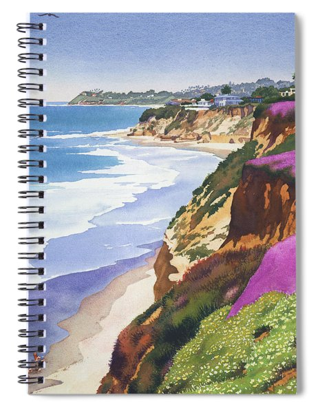 North County Coastline Spiral Notebook