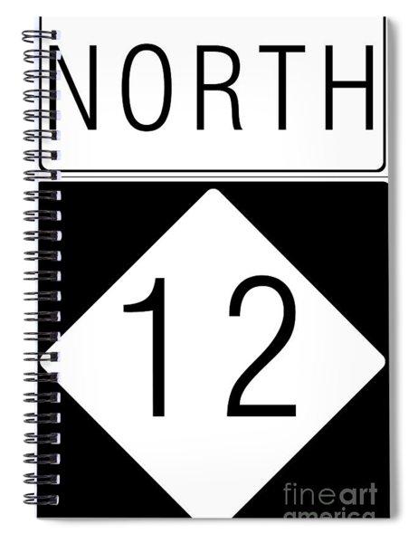 North Nc 12 Spiral Notebook
