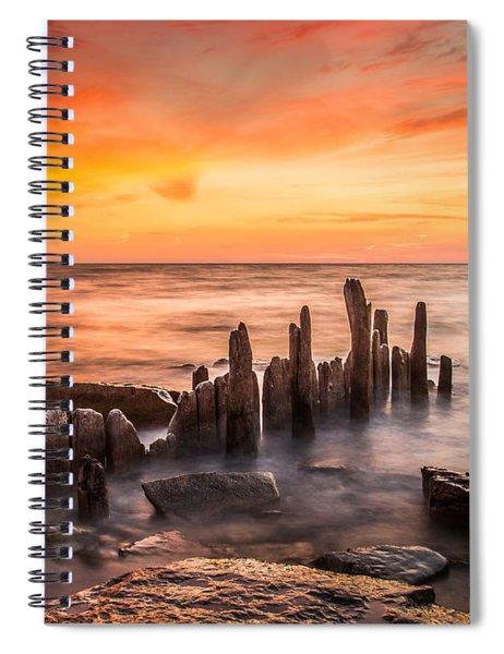 North Point Sky Spiral Notebook