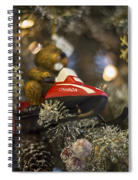 North Pole Express Spiral Notebook