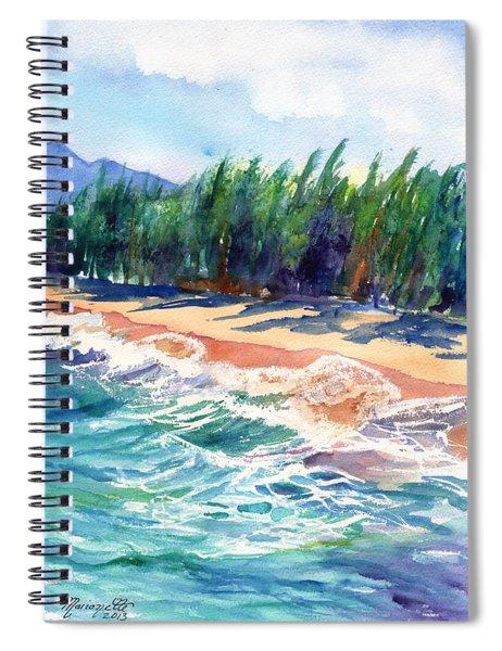 North Shore Beach 2 Spiral Notebook
