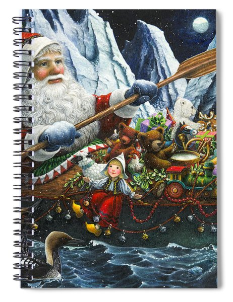 Northern Passage Spiral Notebook