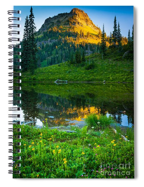 Northwest Sunrise Spiral Notebook