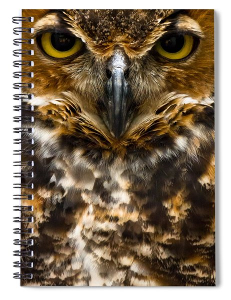 Spiral Notebook featuring the photograph Not Mad At All  by Robert L Jackson