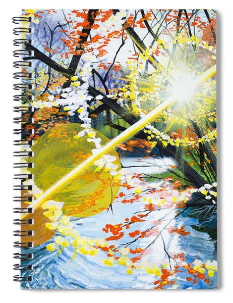 The Glorious River Spiral Notebook