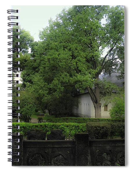 Novodevichy Cemetery 1 - Moscow - Russia Spiral Notebook