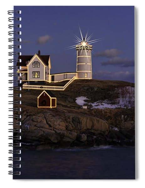 Nubble Lighthouse Ll Spiral Notebook