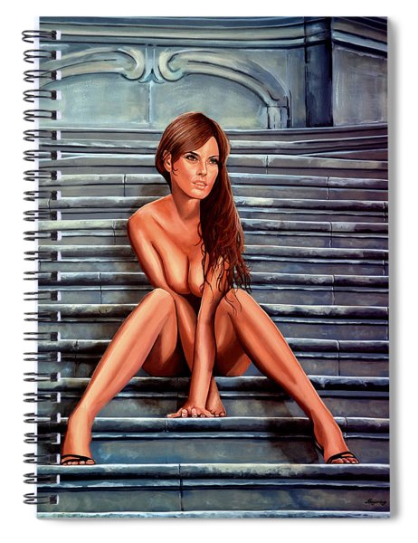 Nude City Beauty Spiral Notebook