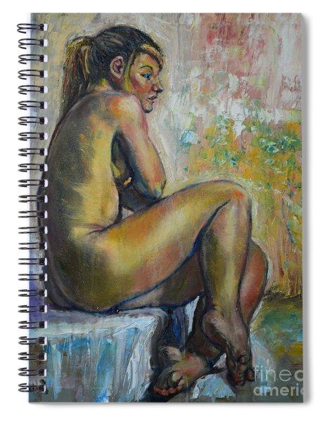 Nude Eva 1 Spiral Notebook