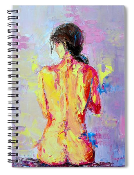 Nude Woman Figure No. 2 Spiral Notebook